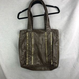 Braciano Brown Tote Bag